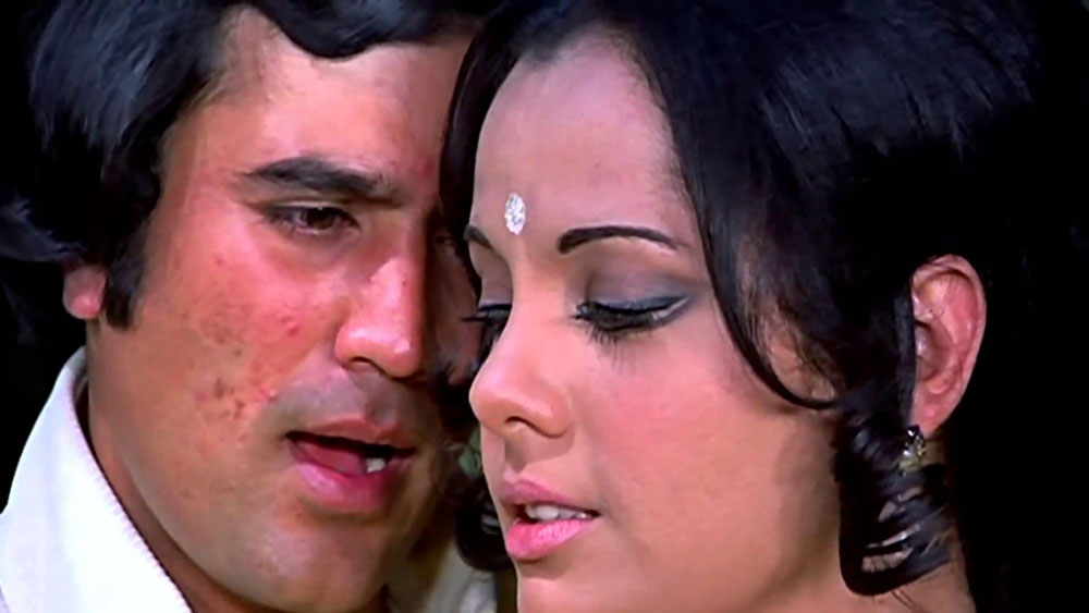 Mumtaz and Rajesh Khanna