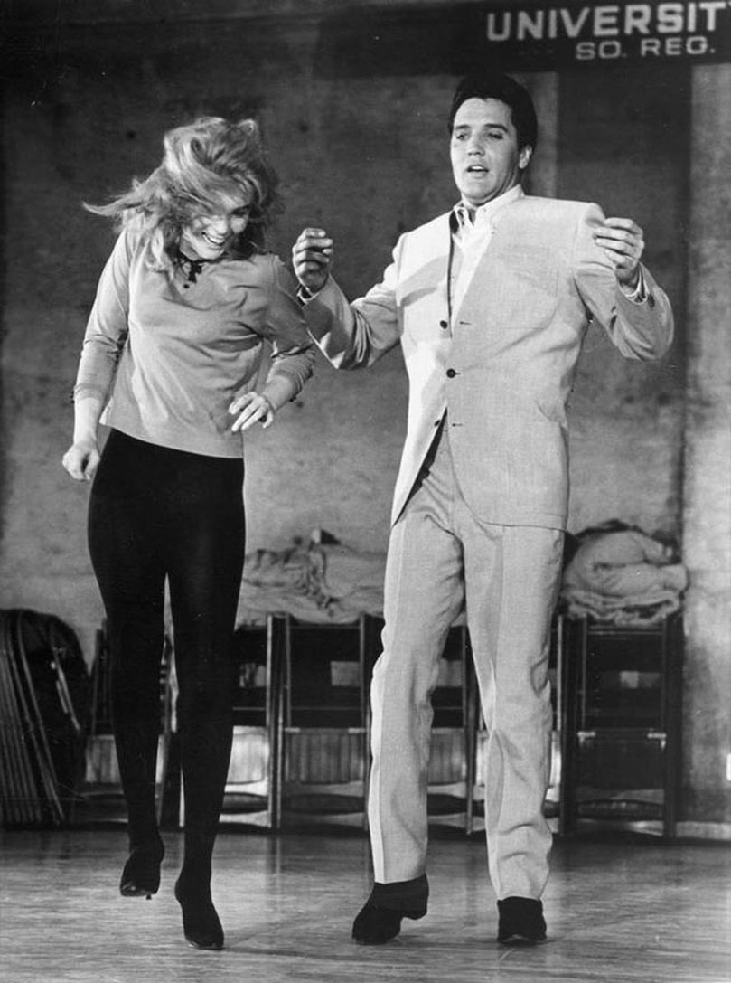 Elvis with Ann Margret