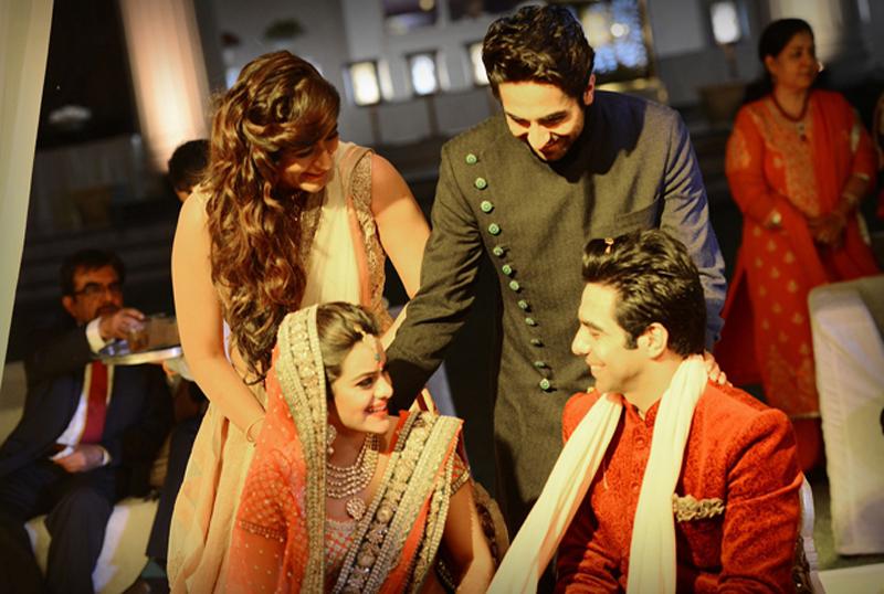 ayushmann-khurrana-at-his-brothers-wedding