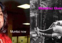 Mumtaz now and then