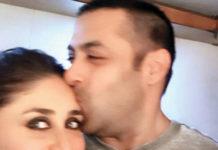 Salman kissing Kareena