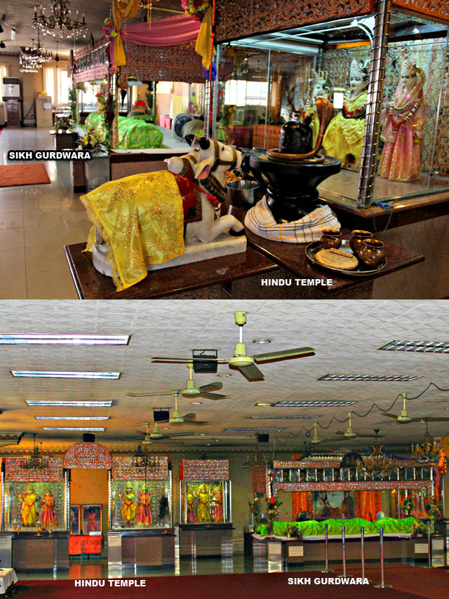 Hindu temple, gurdwara under same roof in Manila