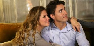 justin-Trudeau-and-wife