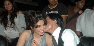 Priyanka Chopra gets cosy with Shah Rukh Khan