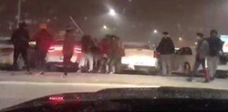 Brampton plaza violence