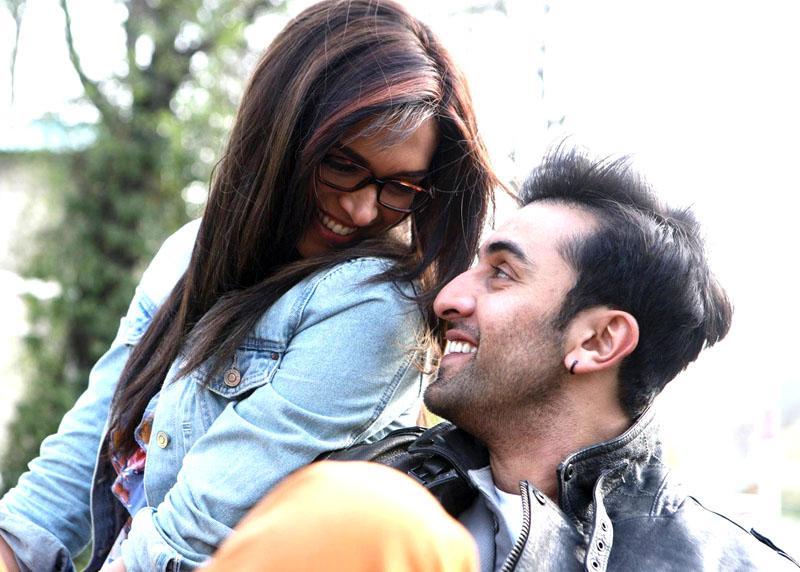 Deepika Padukone with Ranbir