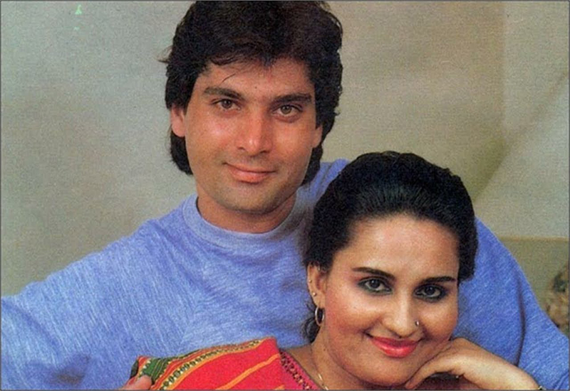 Reena Roy and Mohsin Khan