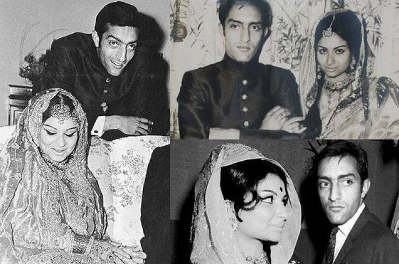 Sharmila-Pataudi wedding pictures
