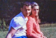 Sonia Gandhi with her first lover Franco Luison
