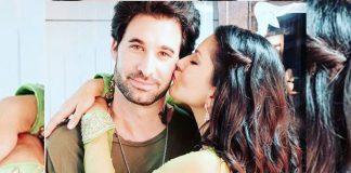 Sunny Leone with husband Daniel Weber.