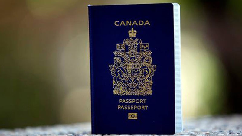 Canadian passport - ranks sixth