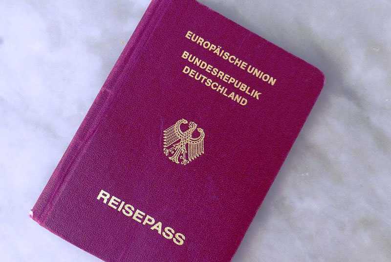 German passport best in world