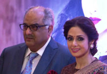 Boney Kapoor with Sridevi