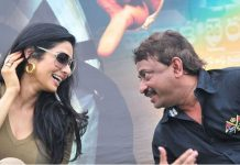 Filmmaker Ram Gopal Varma with Sridevi on whom he had a crush