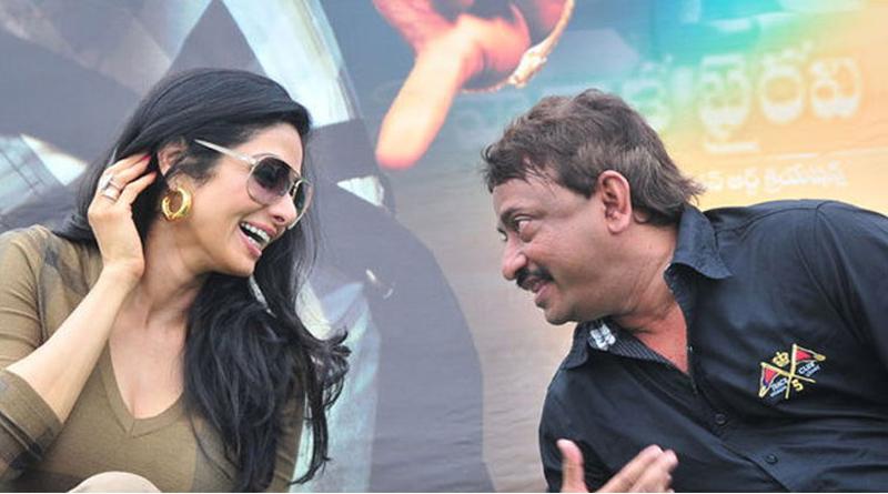 Filmmaker Ram Gopal Varma with Sridevi on whom he had a crush