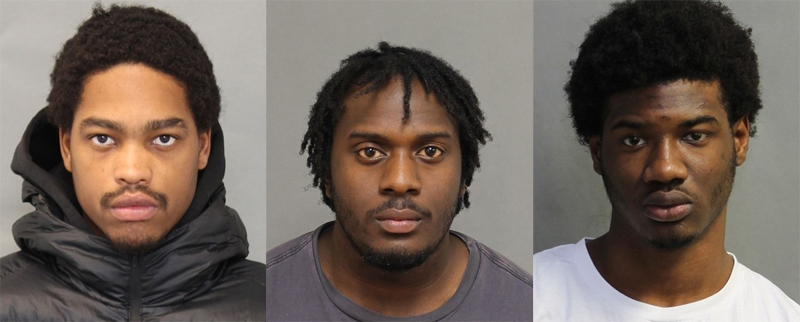 Jahdine Desir, 19, Dane Cato-Simpson, 22, and Tahje Tucker, 18, charged with human trafficking