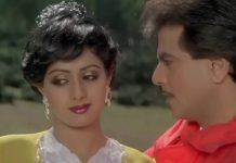Jitendra (right) with actress Sridevi