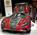Fastest car Agera RS in Toronto