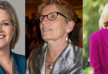 Ontario women leader