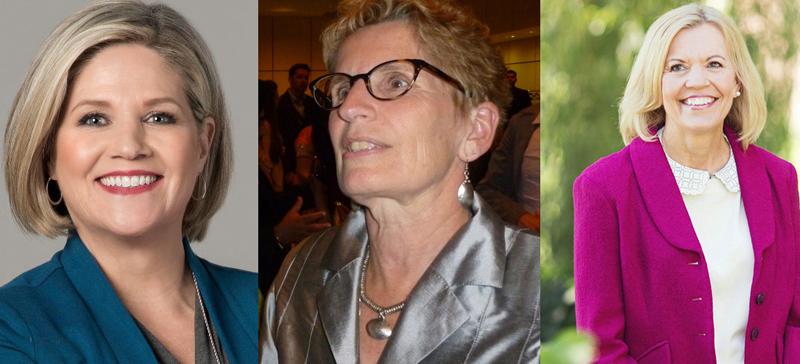 Ontario women leader