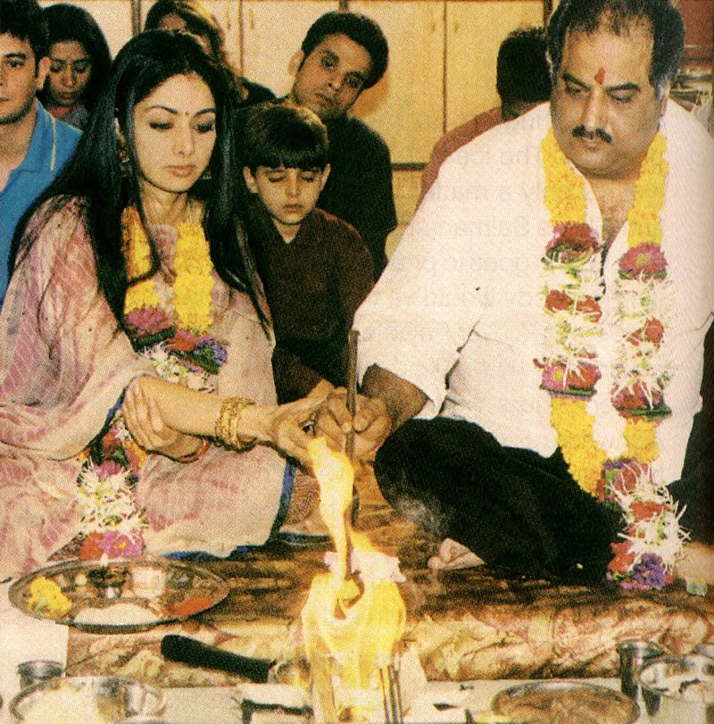 sridevi-Boney Kapoor wedding