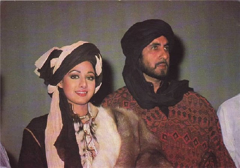 Sridevi and Amitabh Bachchan