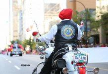 Sikh motorcyclist