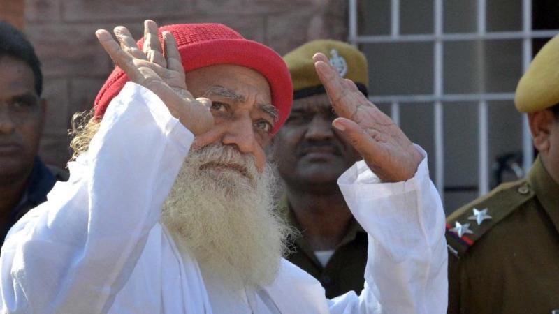 Rapist godman Asaram Bapu who has been jailed for life.