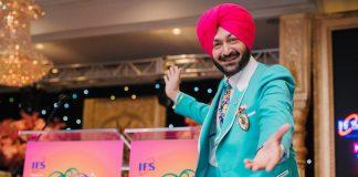 Bhangra king Malkit Singh at Osler gala