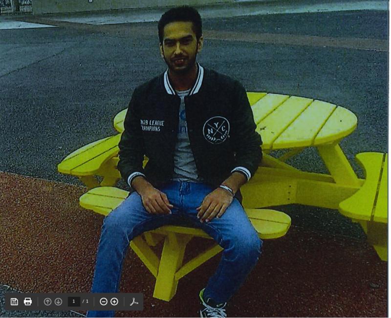 Missing Sikh youth Gurwinder Chhina.