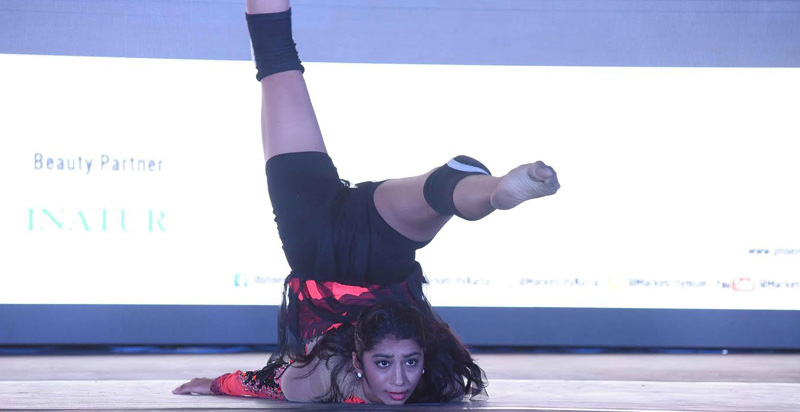 A performer at India Dance Week.