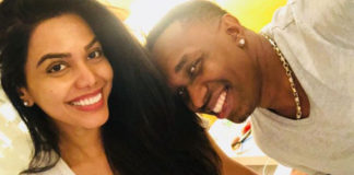Lovebirds natasha suri and Dwayne bravo