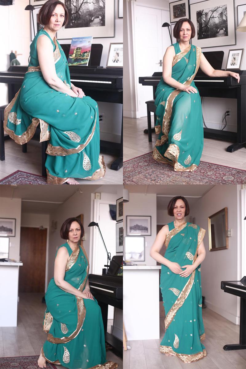 Shannon Skinner - sari pictures