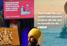 Alberta vs BC on Kinder Morgan