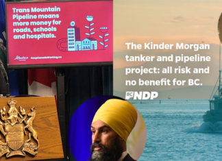 Alberta vs BC on Kinder Morgan