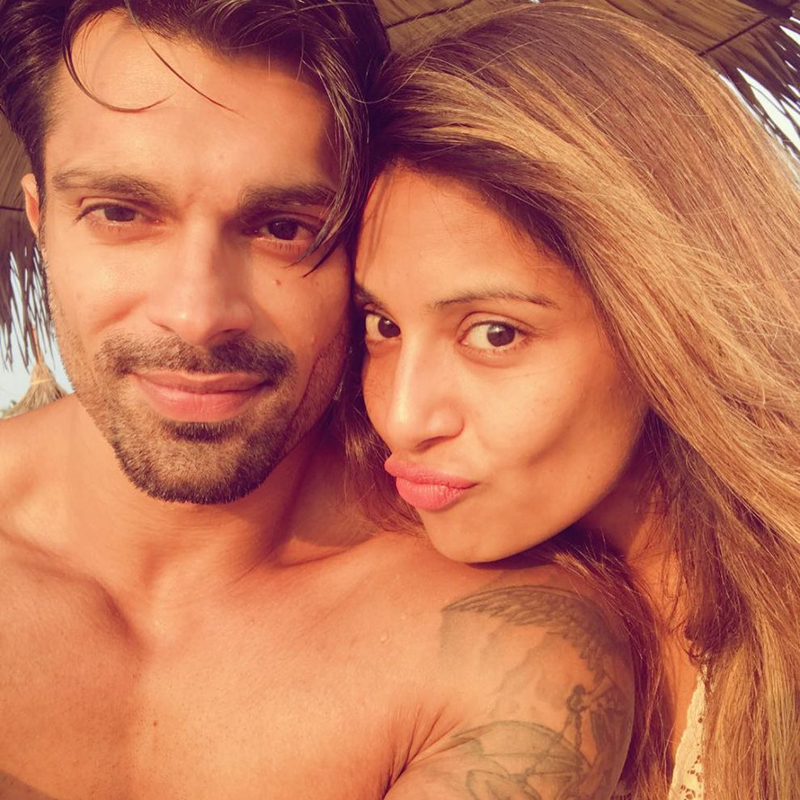 Bipasha with husband Karan Singh Grover.