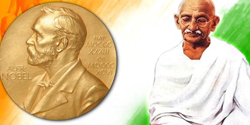 Gandhi and Nobel Peace Prize