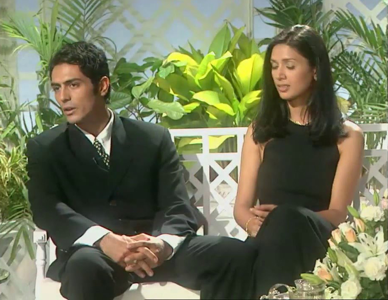 Mehr Jesia with husband Arjun Rampal