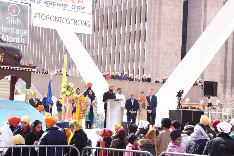 Navdeep Bains at Toronto Vaisakhi parade.