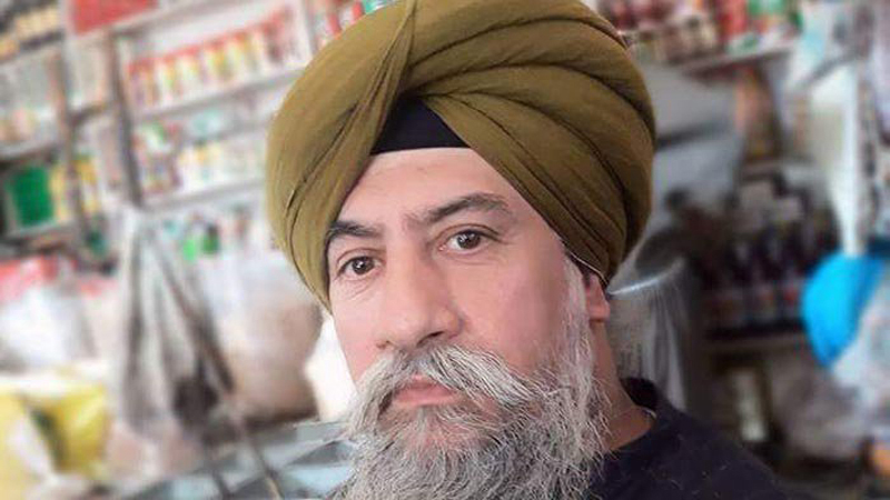 Pakistani sikh Charan Jeet Singh