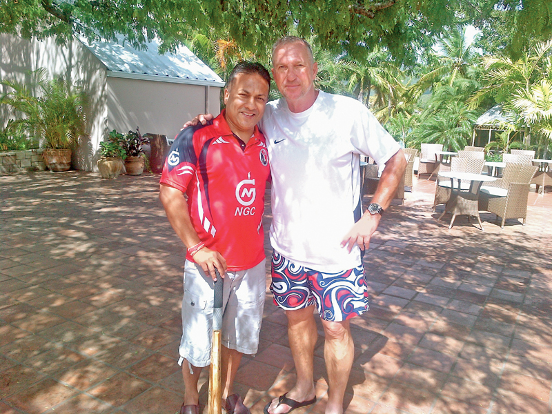 Roy Singh with Ian Botham