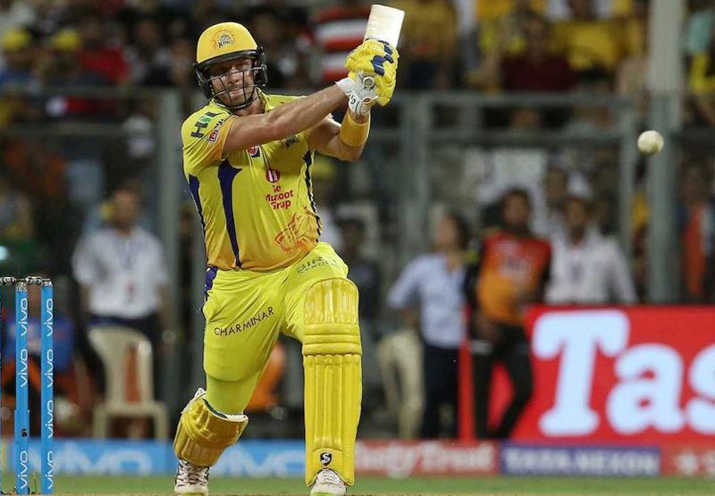 Shane Watson in IPL final