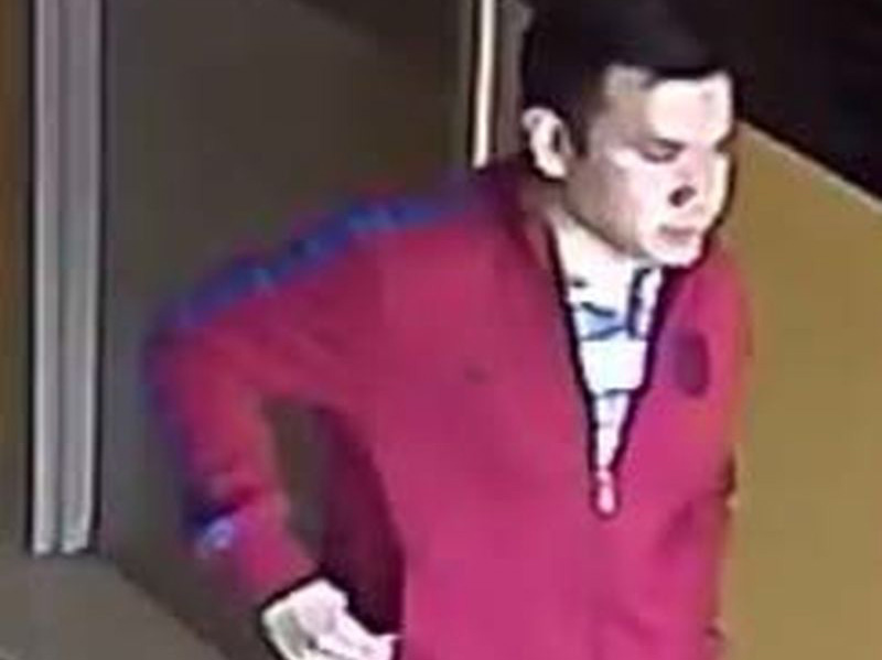 The suspect who planted the secret camera in the washroom.