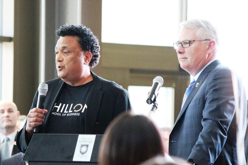Bob Dhillon at the Dhillon School of Business.