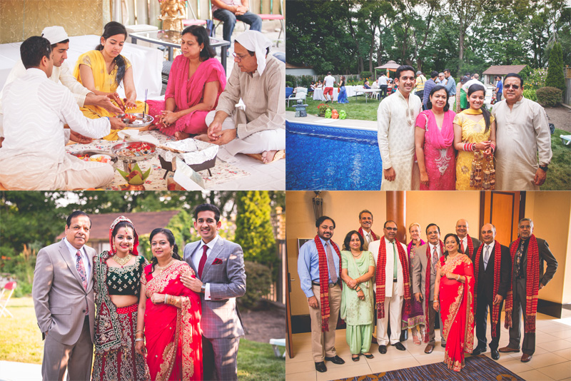 When Kuldeep Sharma's daughter Shivani got married.