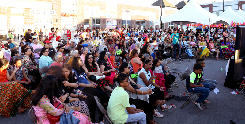 Bramptonians throng in large numbers at Airport Lacoste Centre Summer Festival