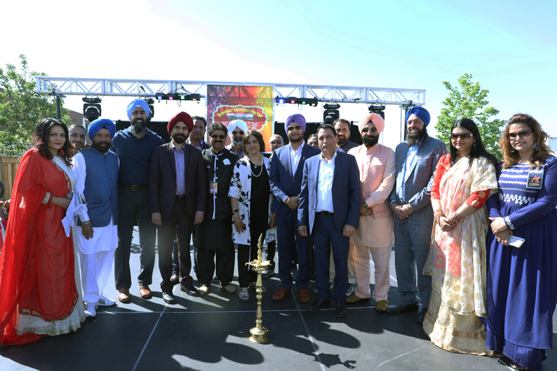 Prominent people at Airport Lacoste Centre Summer Festival