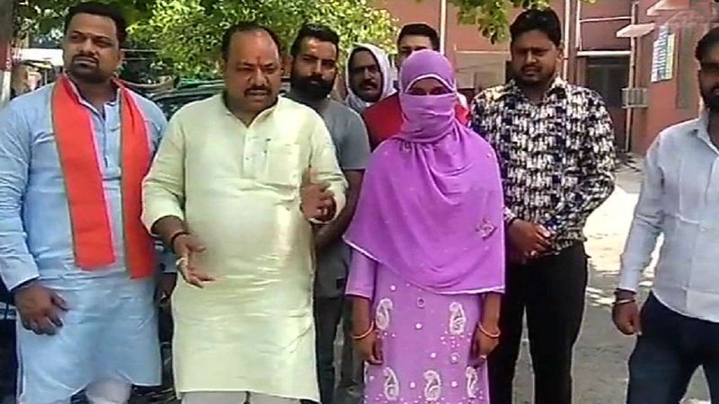 Love jihad; meerut-woman-finds her husband is Muslim