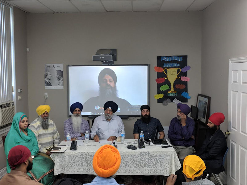 Ontario Sikh press conference