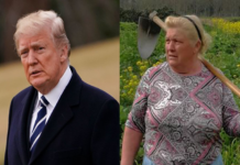 Donald Trump lookalike Dolores Leis Antelo
